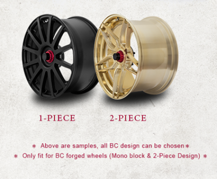Center Lock Conversion Kit for BC Forged wheels