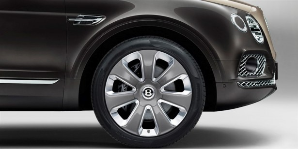 Bentley Bentayga Mulliner wheels - 22'
