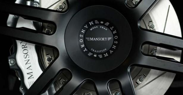 MANSORY 6 spoke fully forged wheel