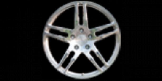 MANSORY 5 spoke monoblock fully forged wheel