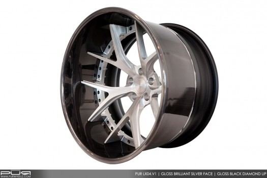 PUR WHEELS LX04  -  Luxury Series I