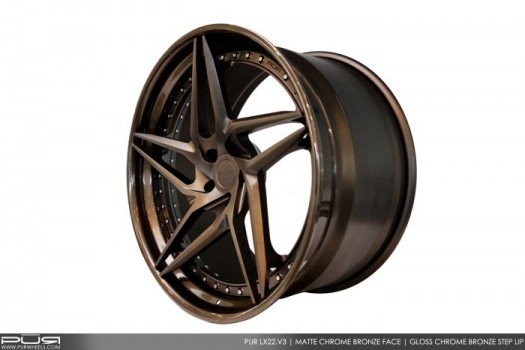 PUR WHEELS LX04 -  Luxury Series III