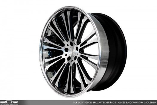 PUR WHEELS LX24 -  Luxury Series I