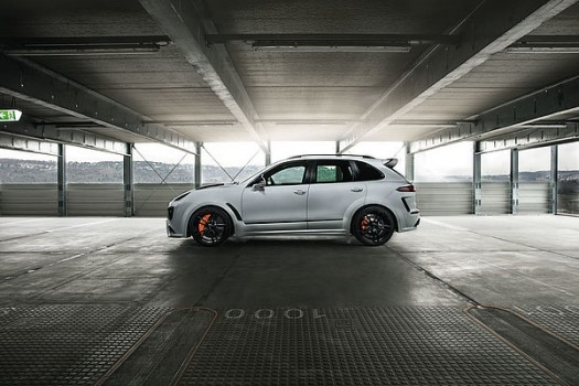 TECHART Porsche Cayenne 92A series Formula IV Wheel