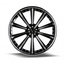 VELLANO VTI CUSTOM CUT 3-PIECE CONCAVE FORGED WHEELS