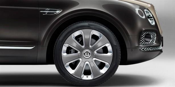 Bentley Bentayga Mulliner wheels - 22'