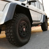 Mercedes AMG 6x6 and 4x4 wheels