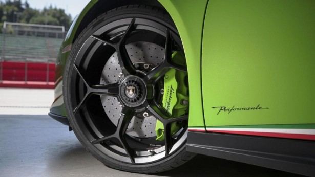 Lamborghini Huracan Performante 20' wheels